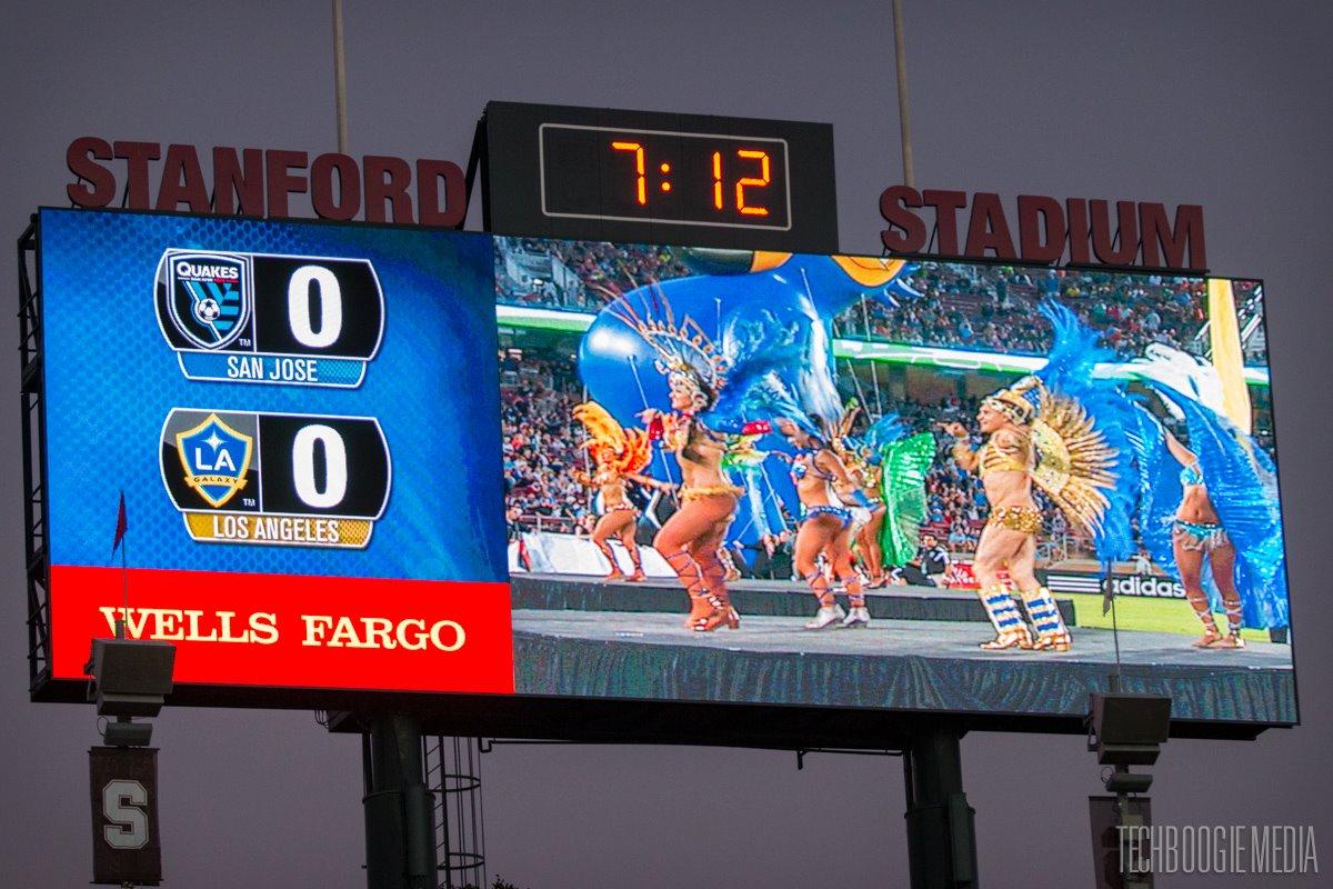 Standford Stadium - Half Time Show, Palo Alto