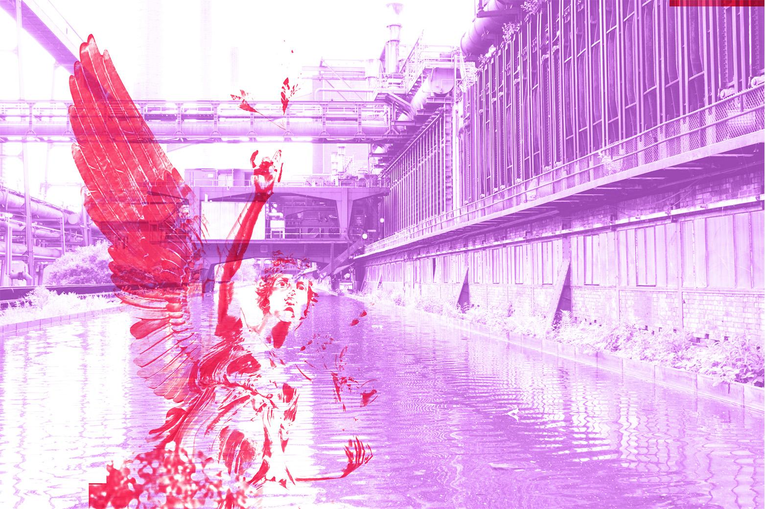 Bildmontage für Designstudio