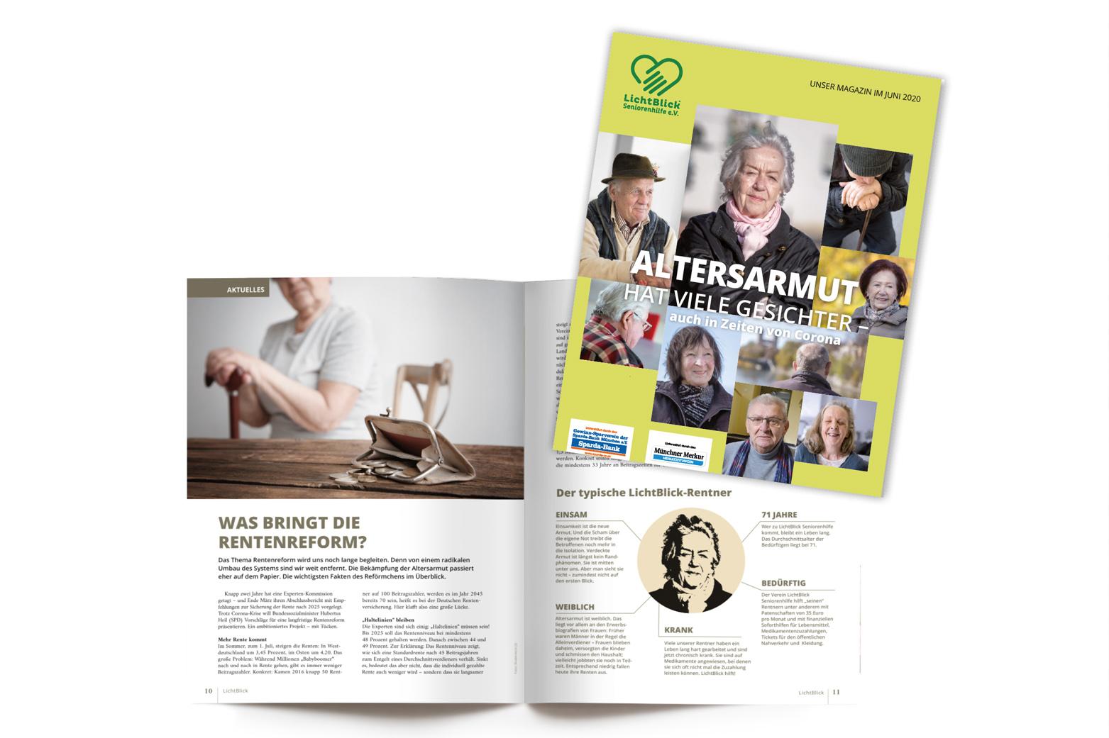 Redesign Magazin Lichtblick