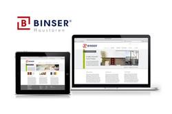 Website Binser Haustüren