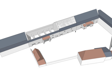Décembre 2020 : le projet de l'architecte du patrimoine est prêt