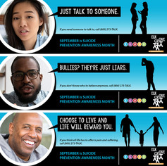 Suicide Awareness Banners