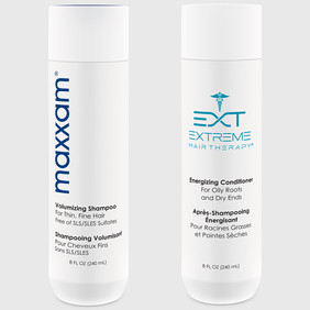 Maxxam and EXT hair products