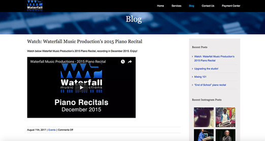 Waterfallmusicproductions.com Blog Page