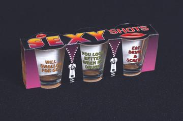Sexy Shots Shot Glasses