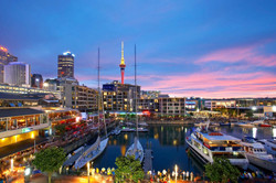 viaduct-harbour-sunset-auckland-new-zeal