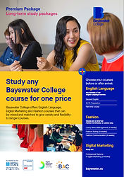 Bayswater College Premium Package Factsh