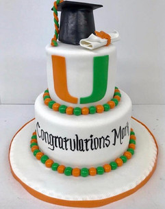 UM Graduation Cake