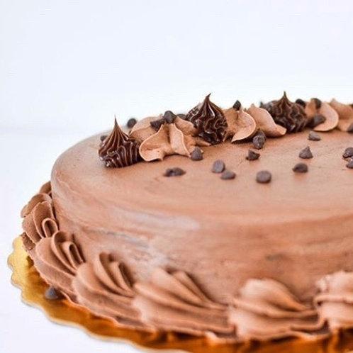 10p Famous Lucila's Chocolate Rum Cake