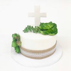 Simplistic Cake