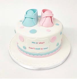 Little Boy or Little Girl Cake