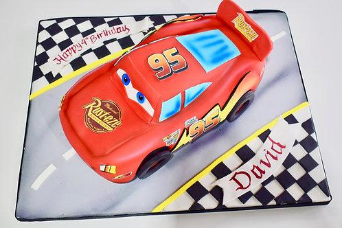 Race-Car Cake