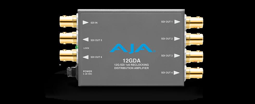12GDA 12G/6G/3G/HD/SD-SDI 訊號分配器