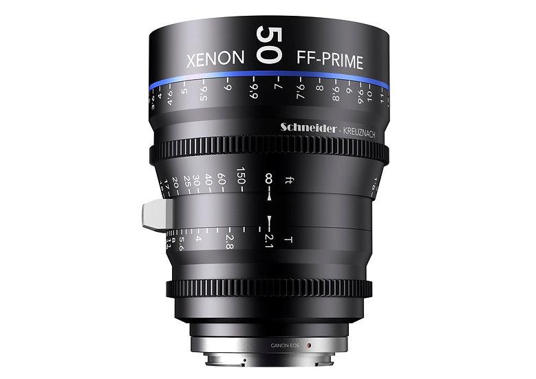 Schneider Xenon FF Prime T2.1 50mm 公制 PL全片幅鏡頭