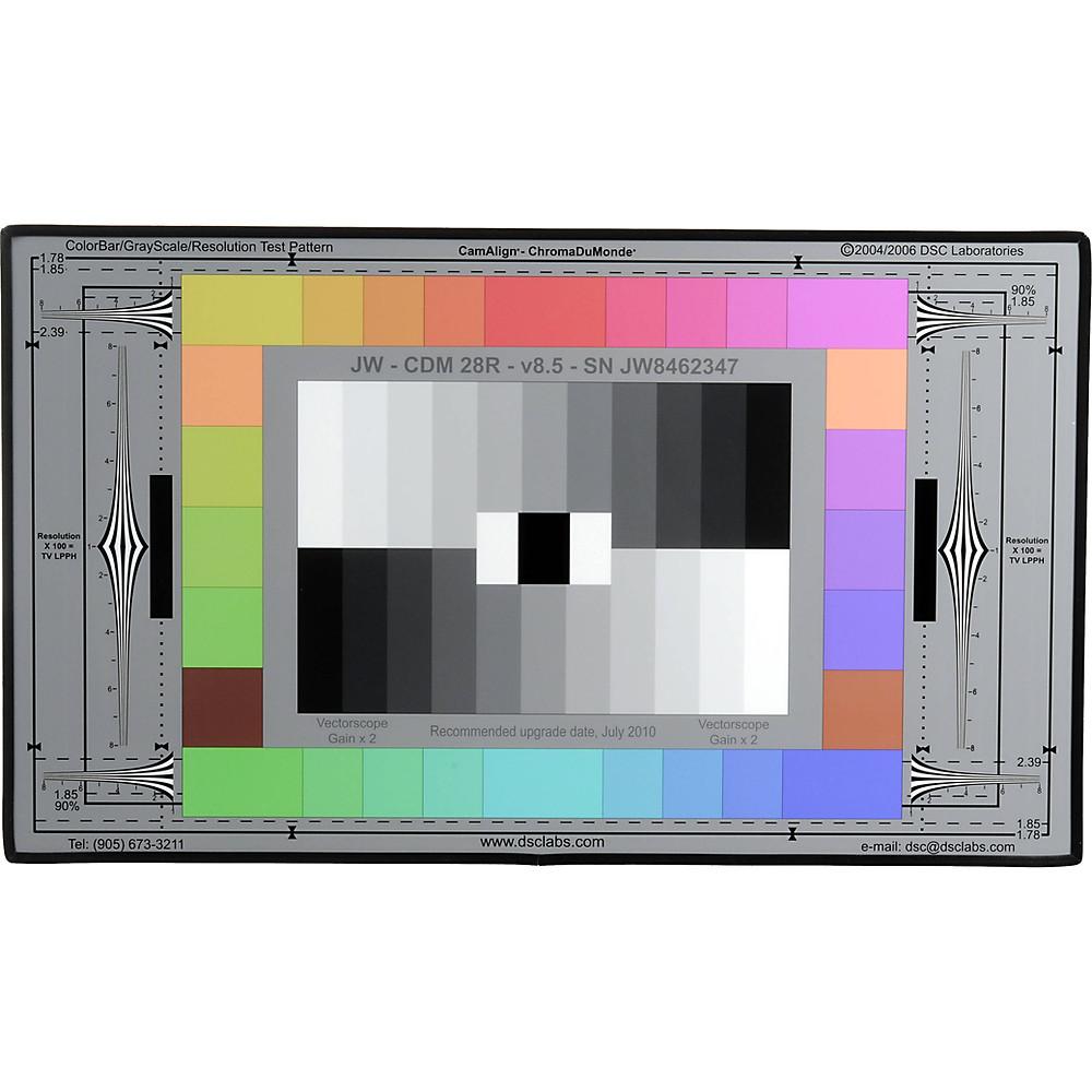 DSC Labs ChromaDuMonde 28-R 色彩校正圖卡