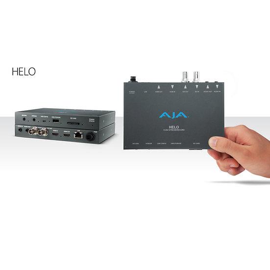 【視訊會議雙組合】AJA HELO H.264 直播編碼器