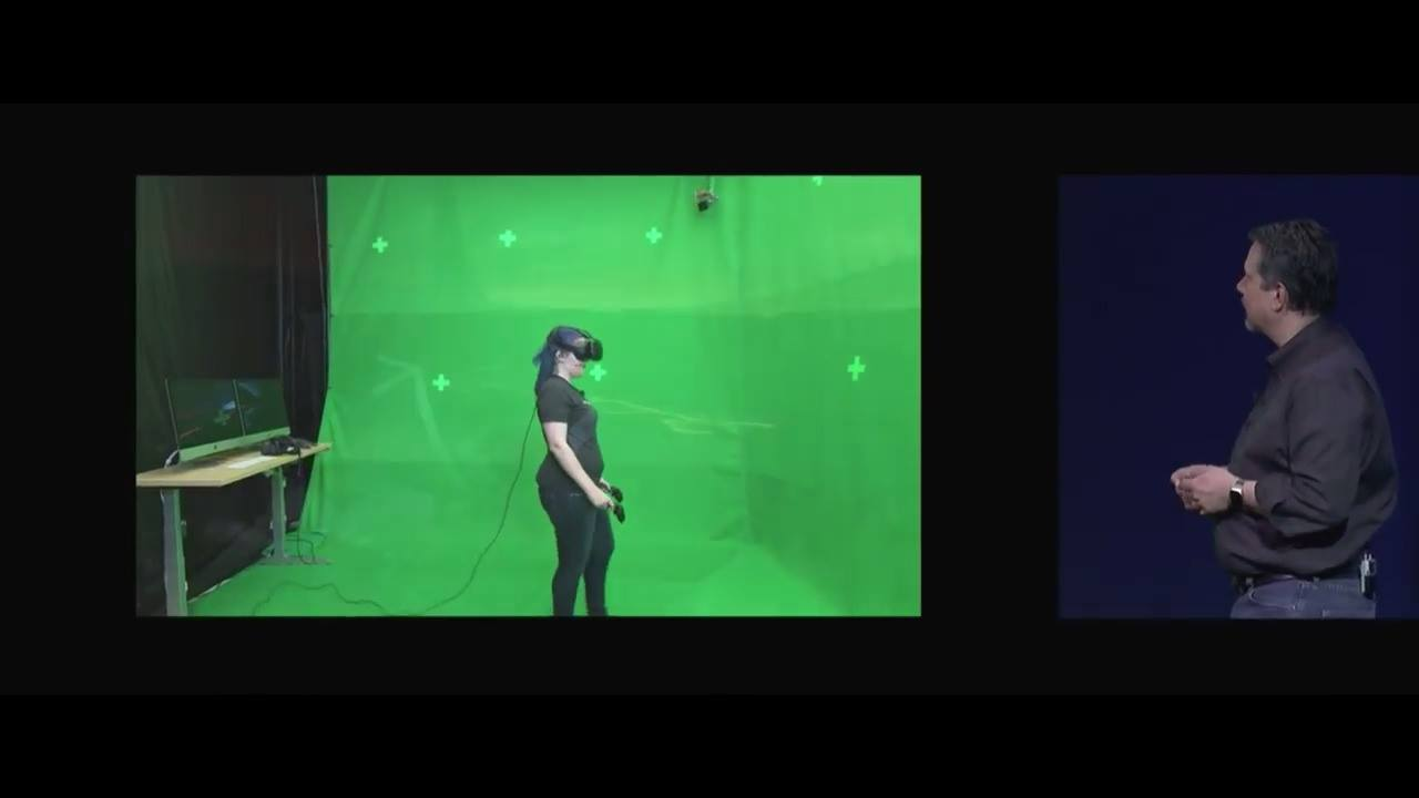 蘋果全球開發者大會-光影魔幻工業實驗室技術展示