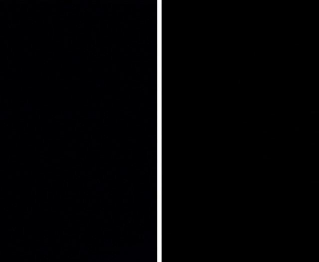 RAW(左)及JPEG(右),直接從攝影機拍得的影像