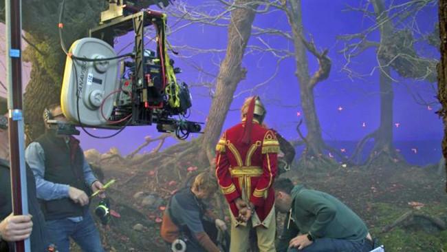"Ncam虛擬棚預覽能力繼續讓人印象深刻,其能力在迪士尼的最新電影""The Nutcracker(胡桃鉗)""展露無遺。"