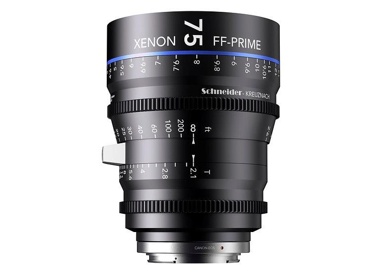 Schneider Xenon FF Prime T2.1 75mm 公制 PL全片幅鏡頭