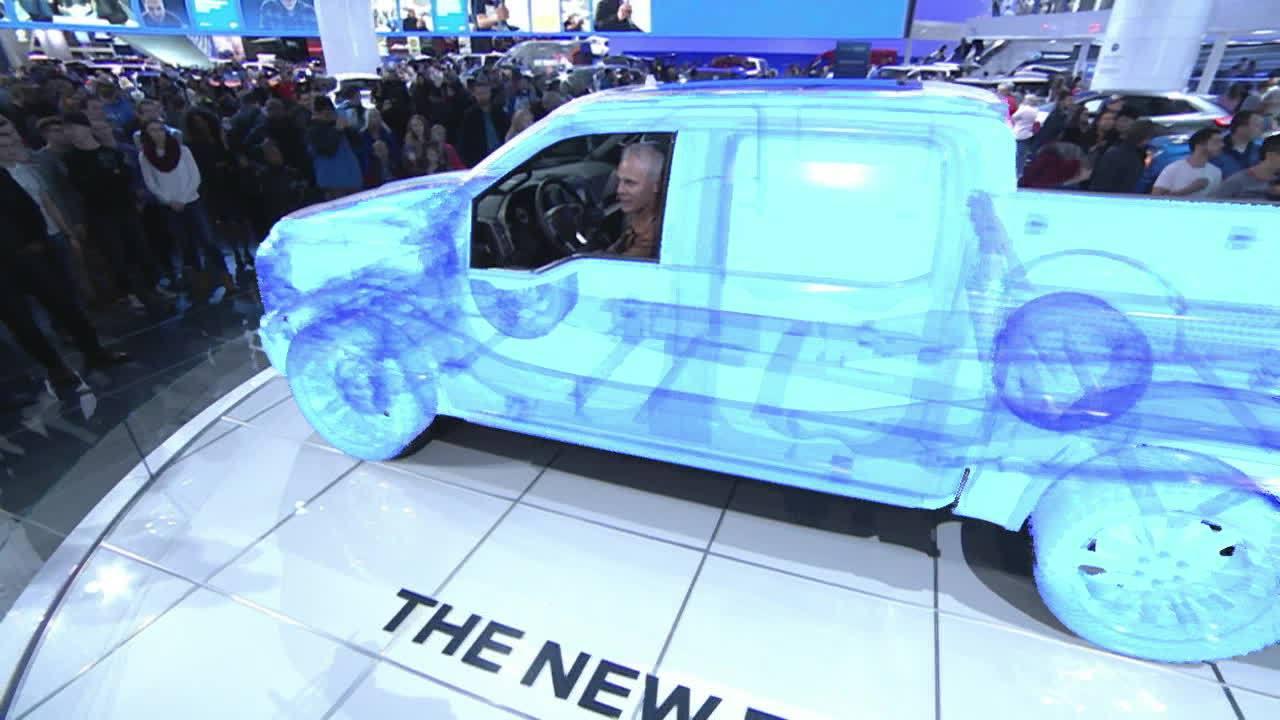 Ncam 第二代 AR/VR 攝影機追蹤系統應用實例 - 福特F150新車發表