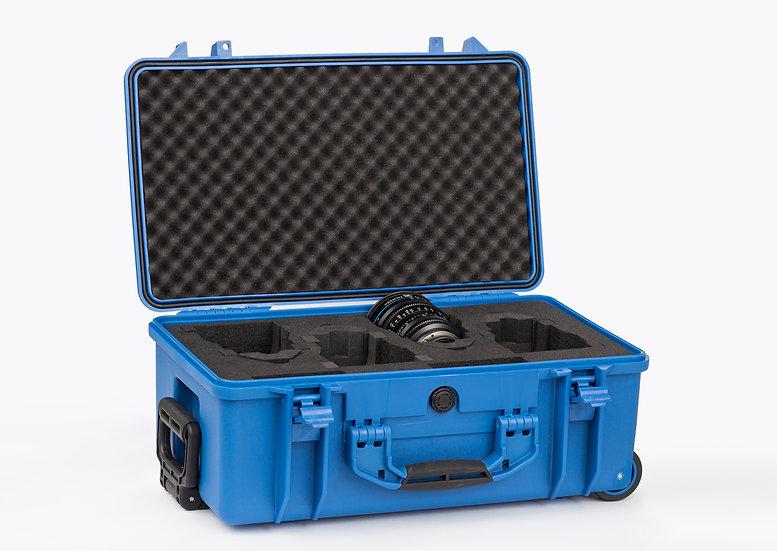Schneider 4顆裝鏡頭攜行箱