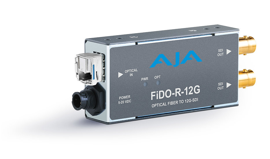 FiDO-R-12G 單路單模 LC 光纖轉12G-SDI接收器