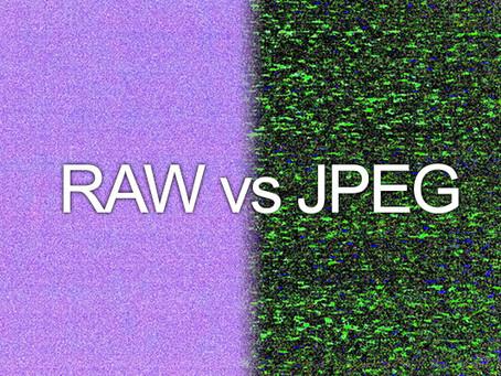你一定要知道的事:RAW 與 JPEG 的比較
