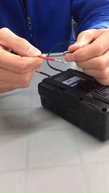 Gen Energy Li-ion軍規電池,短路保護展示