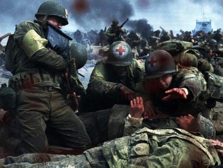史蒂芬史匹柏的戰地攝影機 如何透徹的捕捉混亂