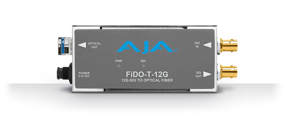 FiDO-T-12G 單路12G-SDI 轉單模LC 光纖發送器