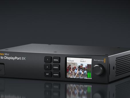 Teranex Mini SDI to DisplayPort 8K HDR 正式上市