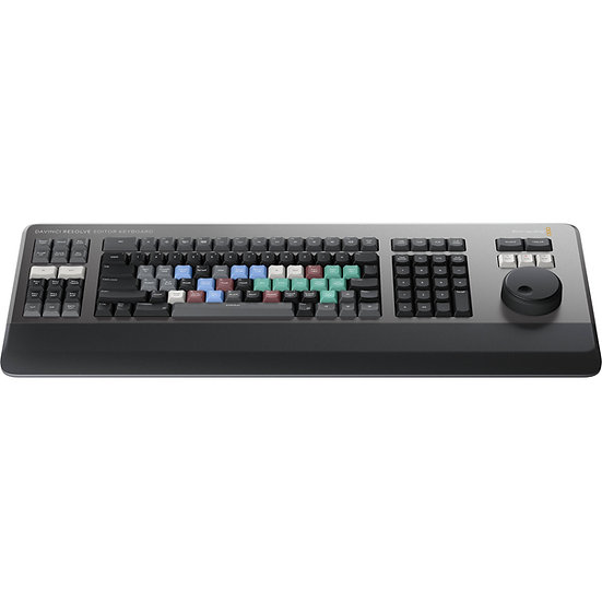 DaVinci Resolve Editor Keyboard 剪接盤