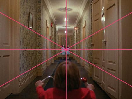 用簡單的線條揭露知名電影的偉大構圖