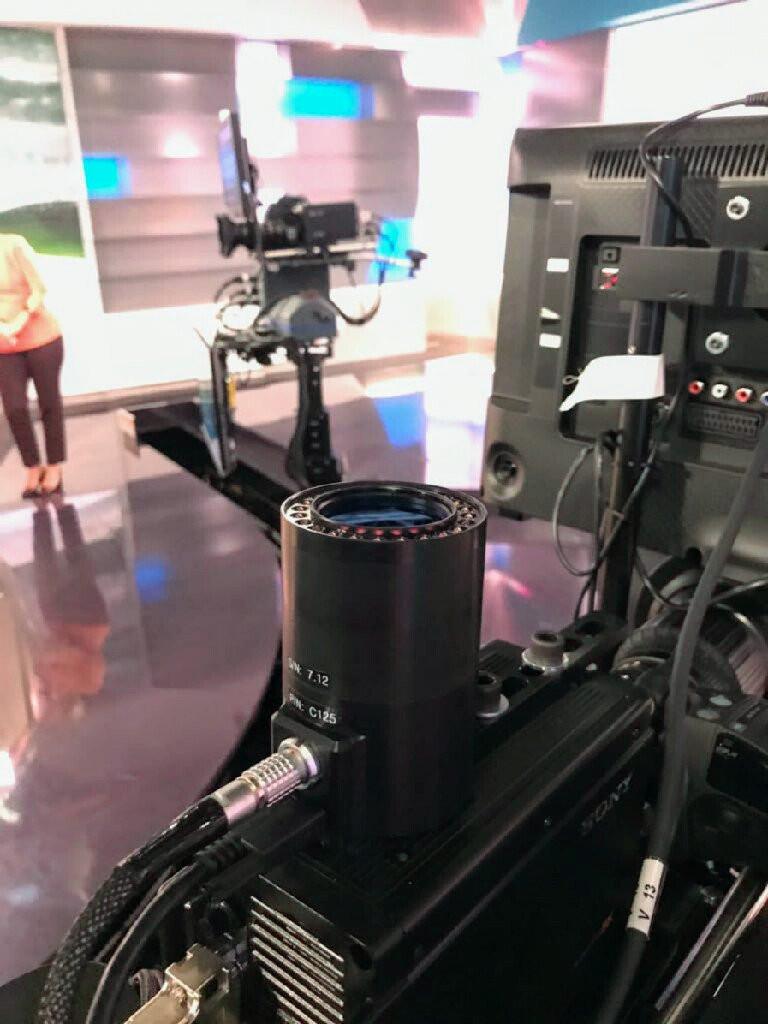 裝置在攝影機上的RedSpy 攝影機追蹤系統