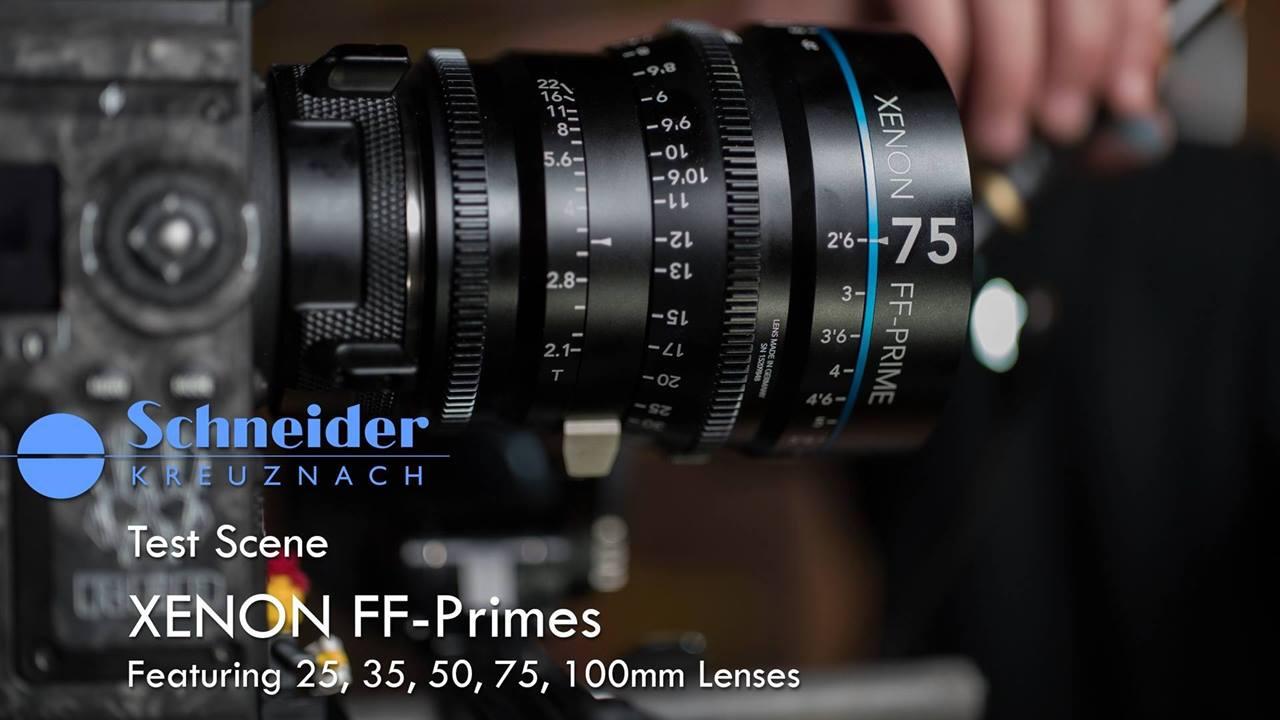 德國手工打造,最新的頂級之作 - Schneider Xenon FF Prime