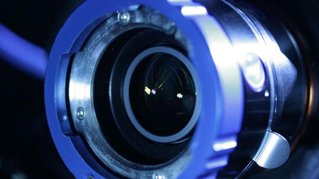 非垂直入光(Non-Telecentric)鏡頭需進行光學校正,以滿足感光元件的需求(影像由MTF Services提供)