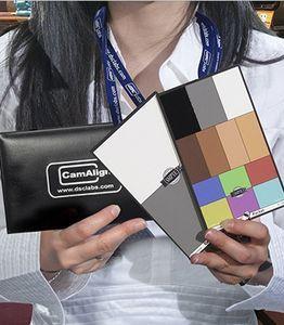 SMPTE OneShot 口袋型色彩校正圖卡