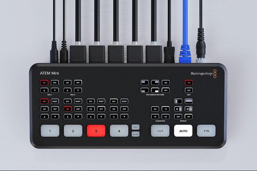 ATEM Mini 導播機