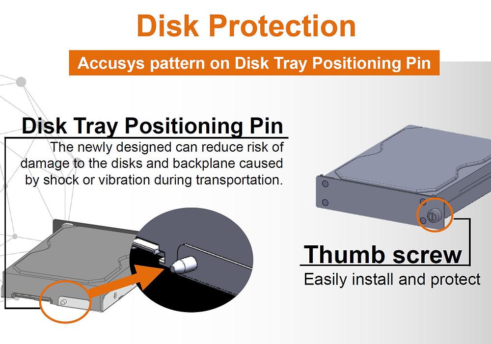 硬碟防震釘-快鎖硬碟,資料安全