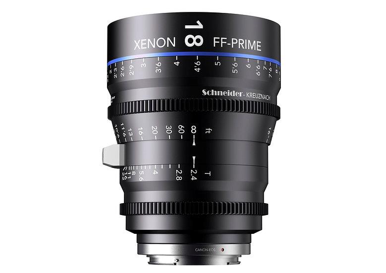 Schneider Xenon FF Prime T2.4 18mm 公制 PL全片幅鏡頭