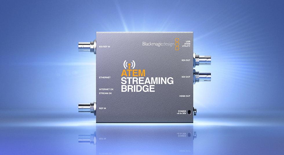 ATEM STREAMINGBRIDGE H.264串流轉SDI & HDMI轉換器