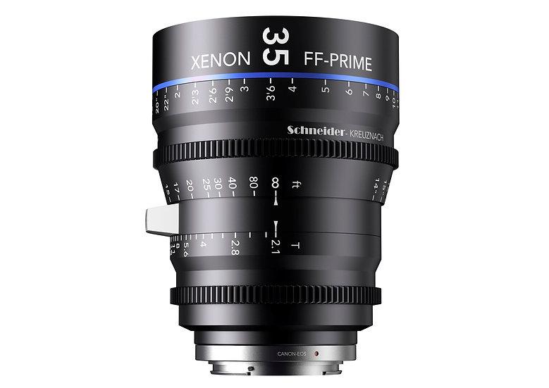 Schneider Xenon FF Prime T2.1 35mm 公制 PL全片幅鏡頭