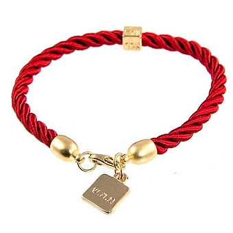 Gold-Plated-and-Red-Rope-Bracelet---Heal