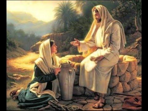 Jesús habla de las Aguas superiores, que residen en la sefirá 2 Jocmá