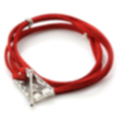 Ana-Bekoach-Silver-and-Red-Leather-Kabba