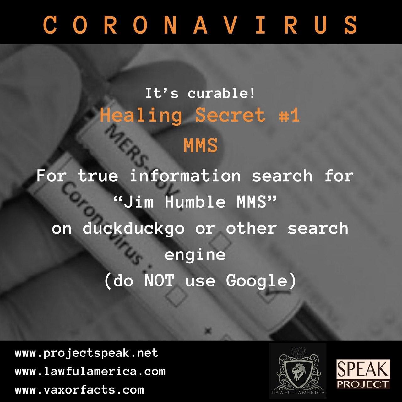 Coronavirus - Healing Secret #1