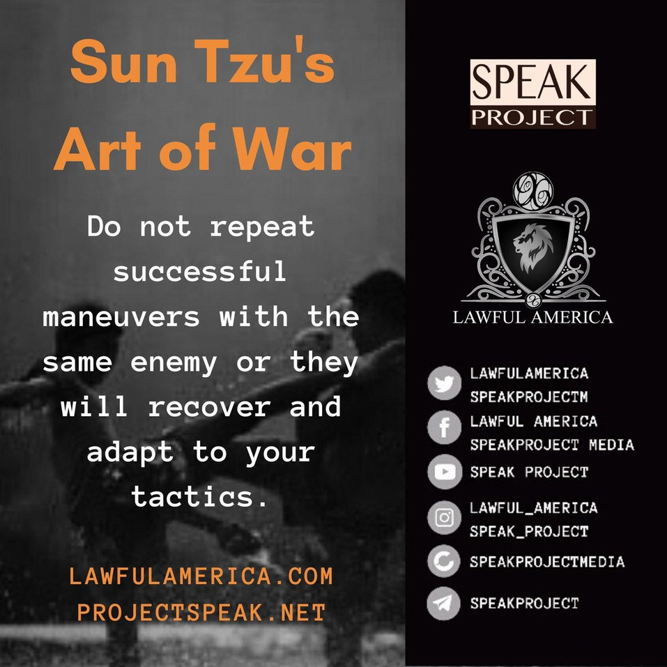 Sun Tzu's Art of War - Do Not Repeat Suc