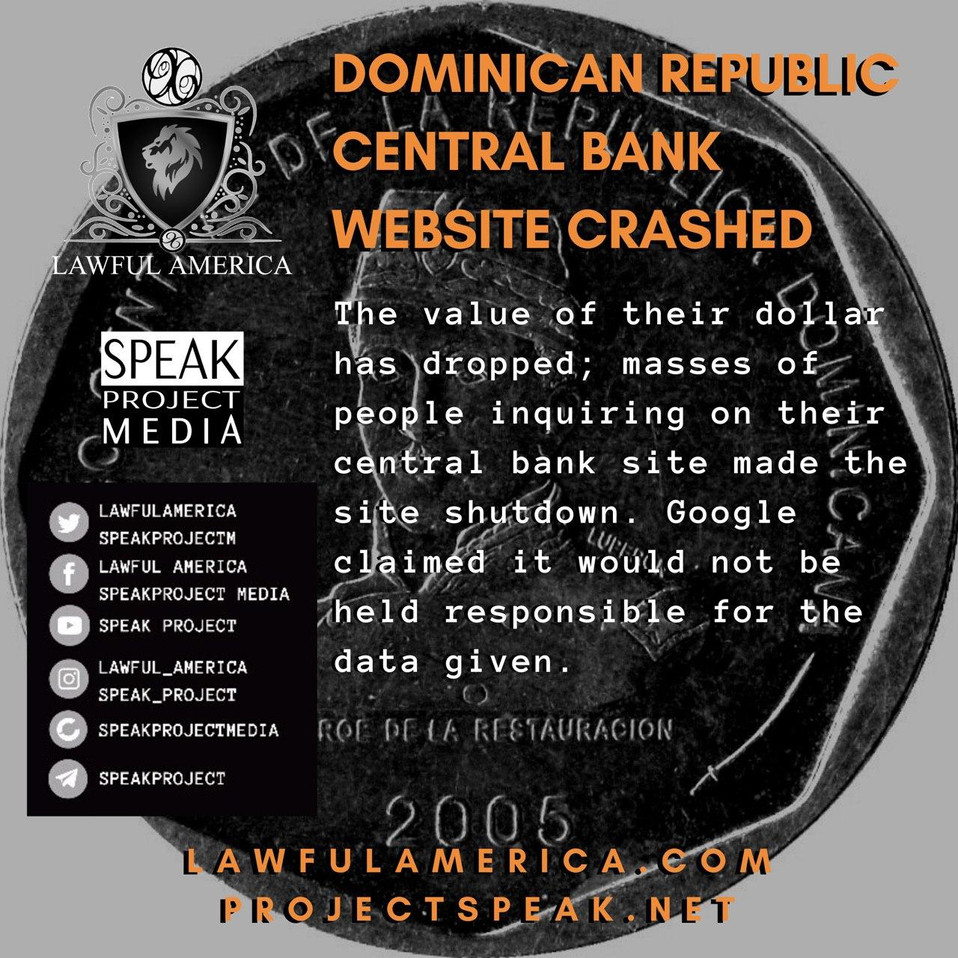 Dominican Republic Central Bank Website