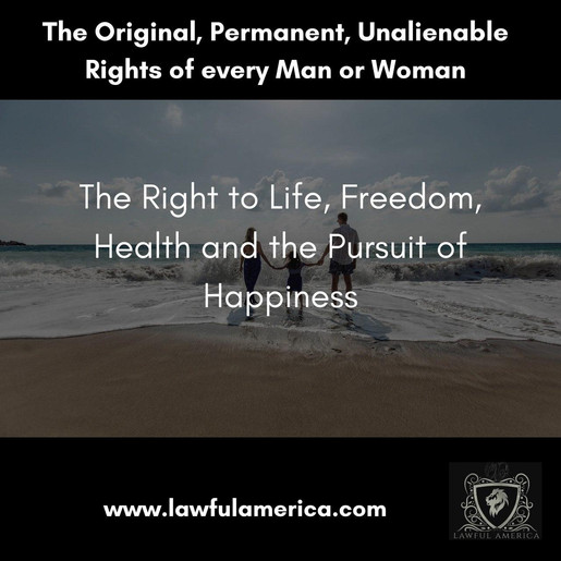 The Right to Life, Freedom, Health and t